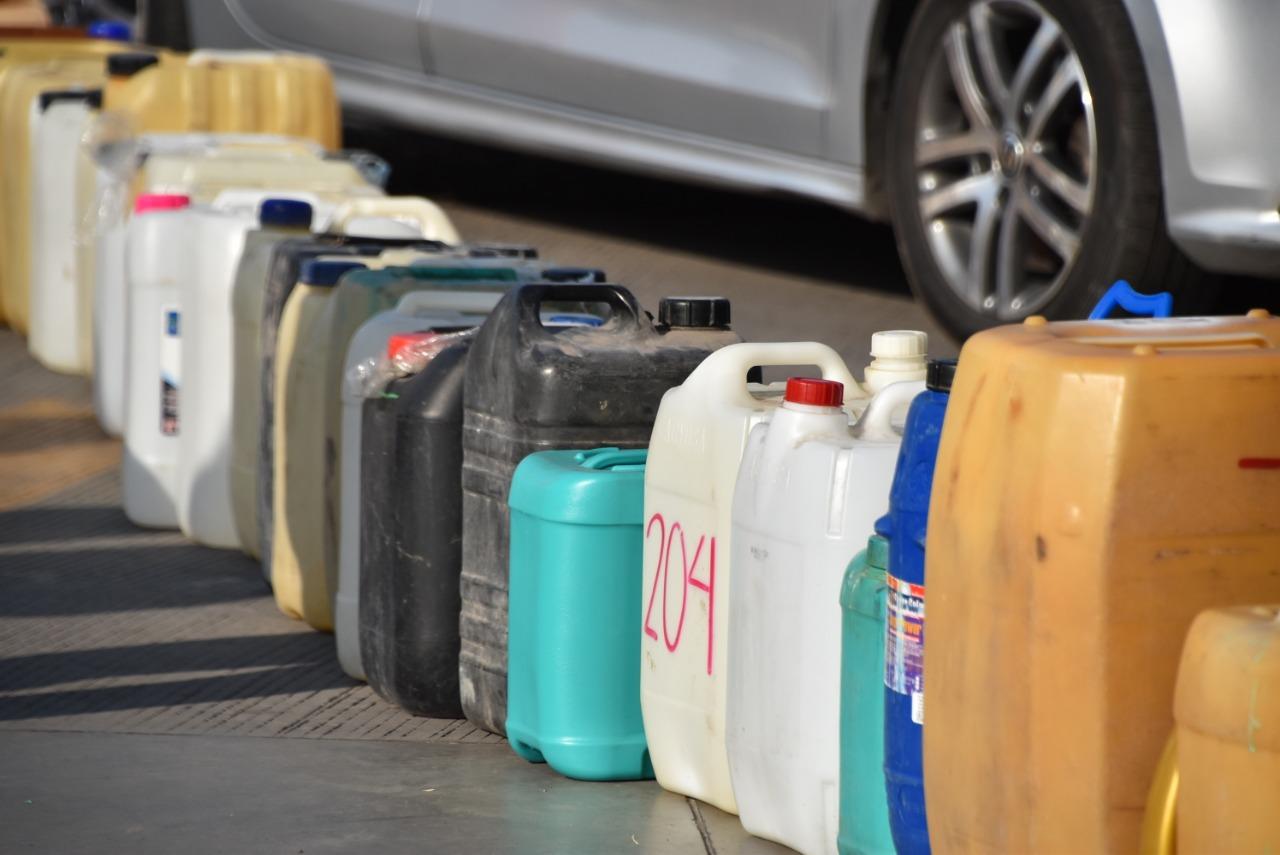 Gobierno de Salamanca emite recomendaciones ante uso de garrafas para compra de gasolina