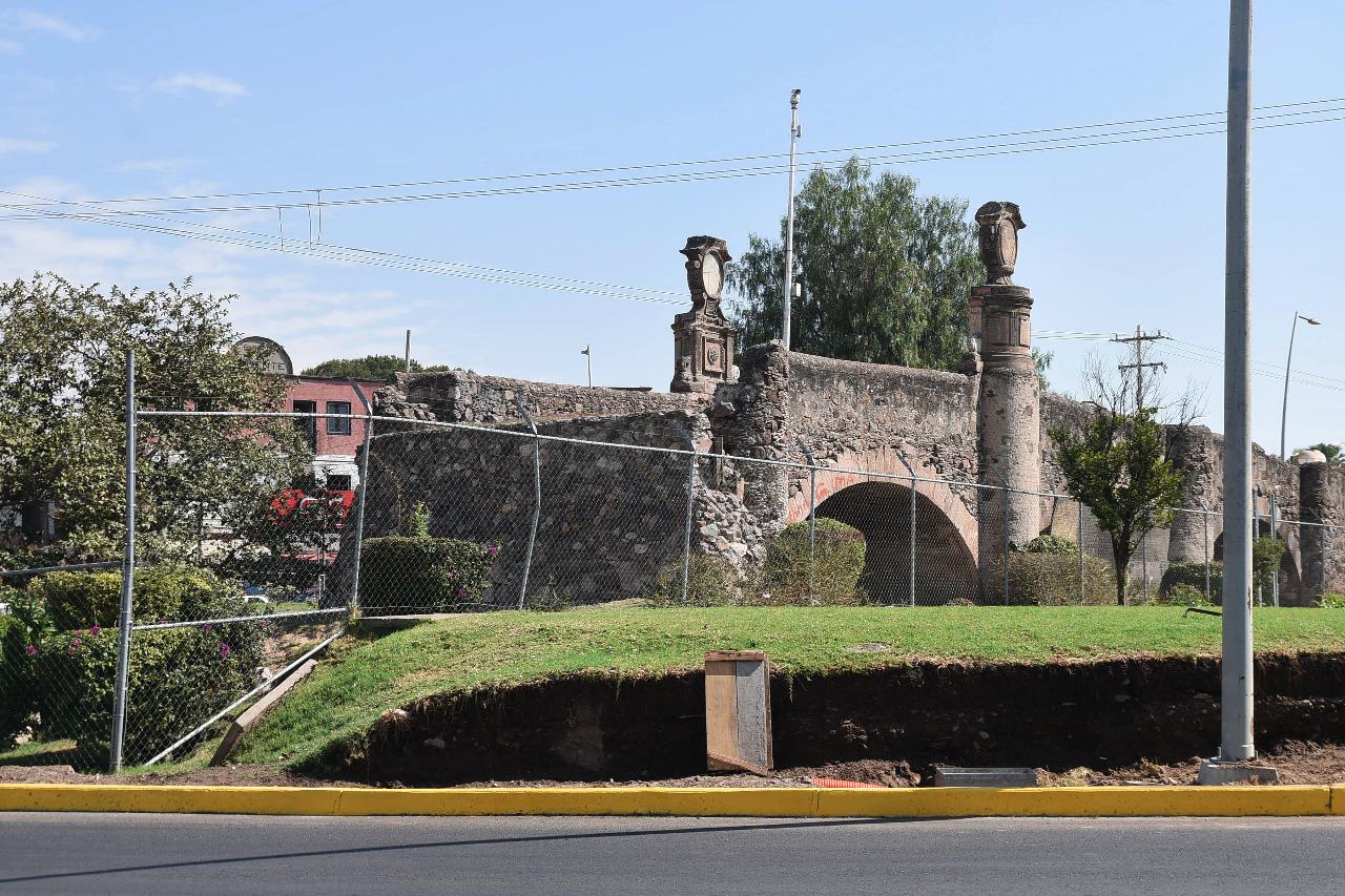 Formalizarán ante el INAH proyecto de rescate de Puente de Guadalupe