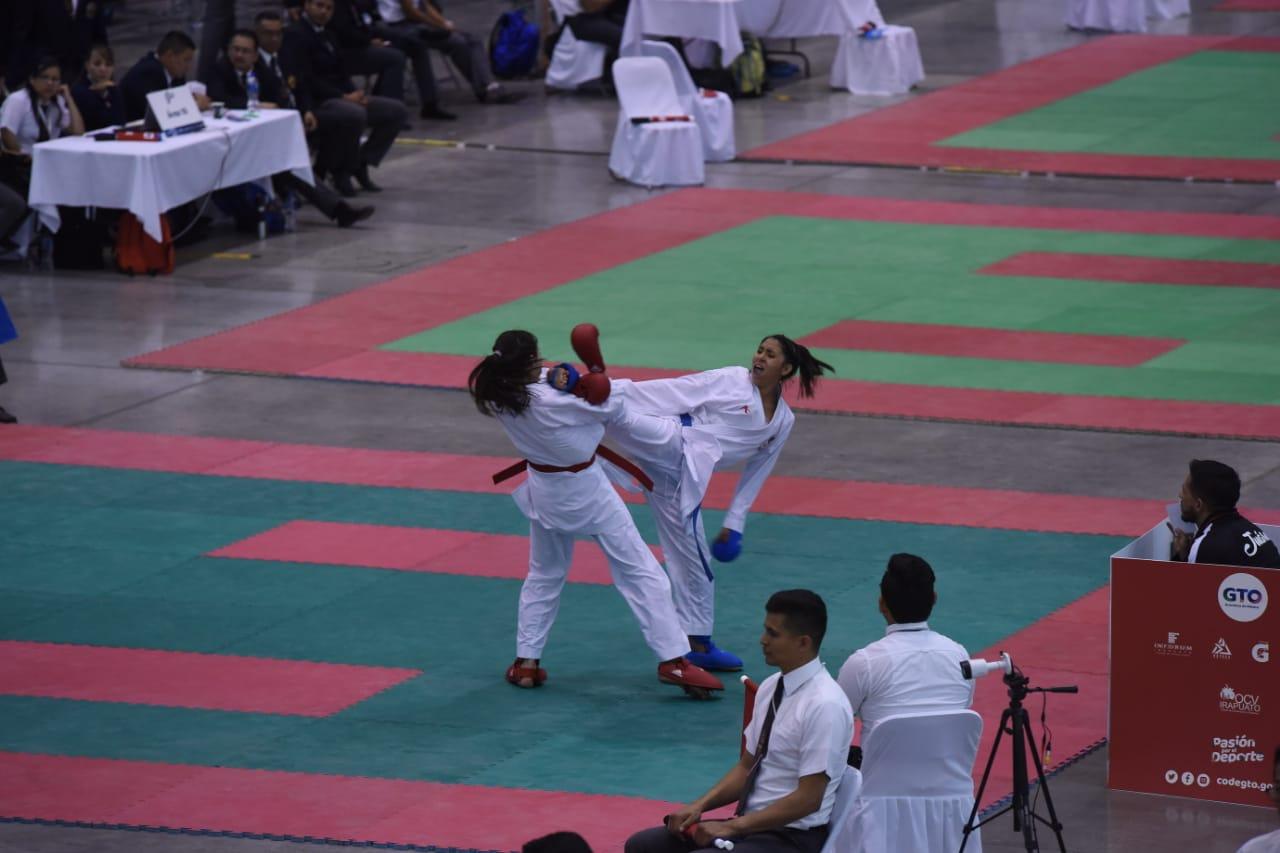 Inicia campeonato nacional de karate en Irapuato