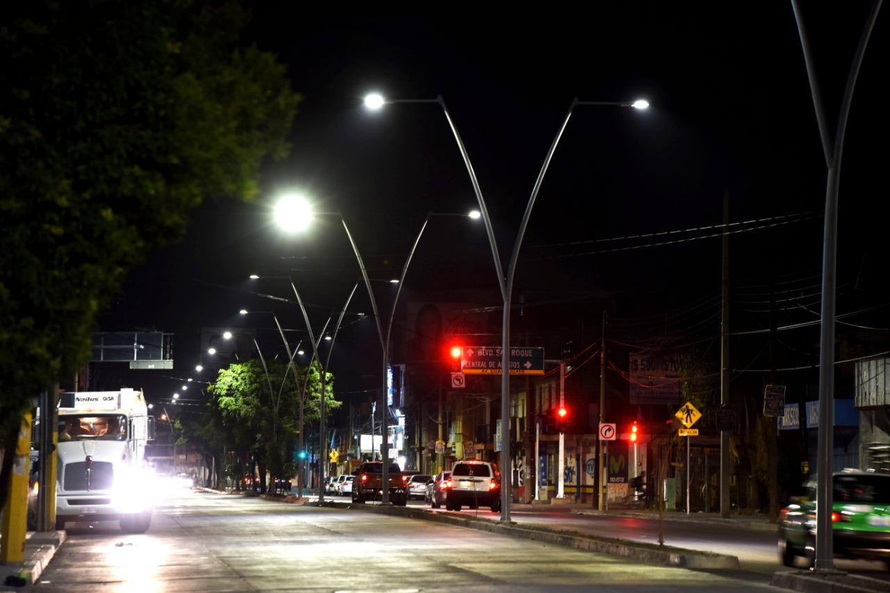 A partir de junio, colocarán nueva remesa de 3 mil 500 lámparas led