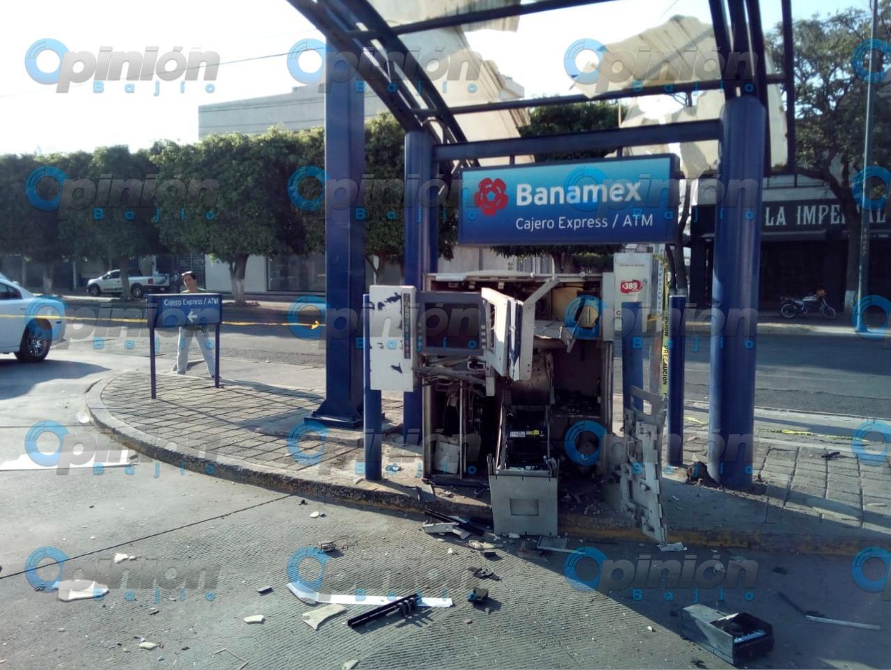 Explosivos usados en robo de cajero automático eran de pólvora: Seguridad Ciudadana; delincuentes huyeron en motos
