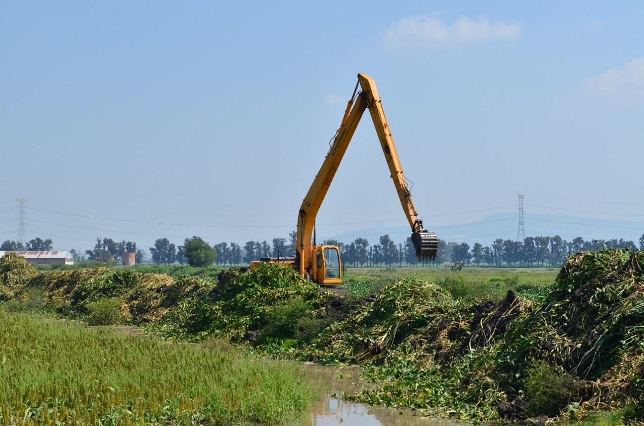 Limpia JAPAMI más de 6 kilómetros de ríos y canales