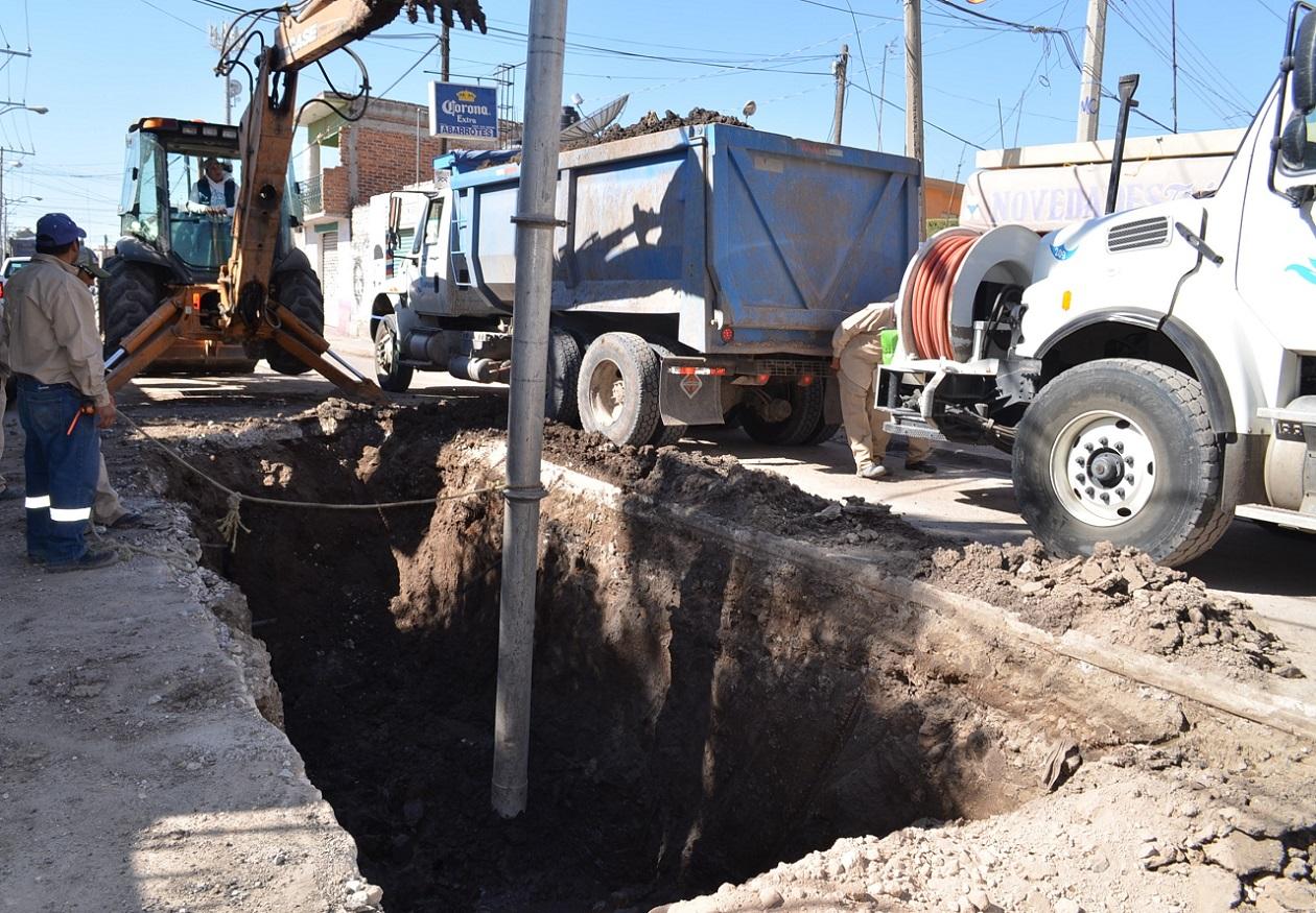 Van 10 colapsos en calles y avenidas durante 2019, reporta JAPAMI
