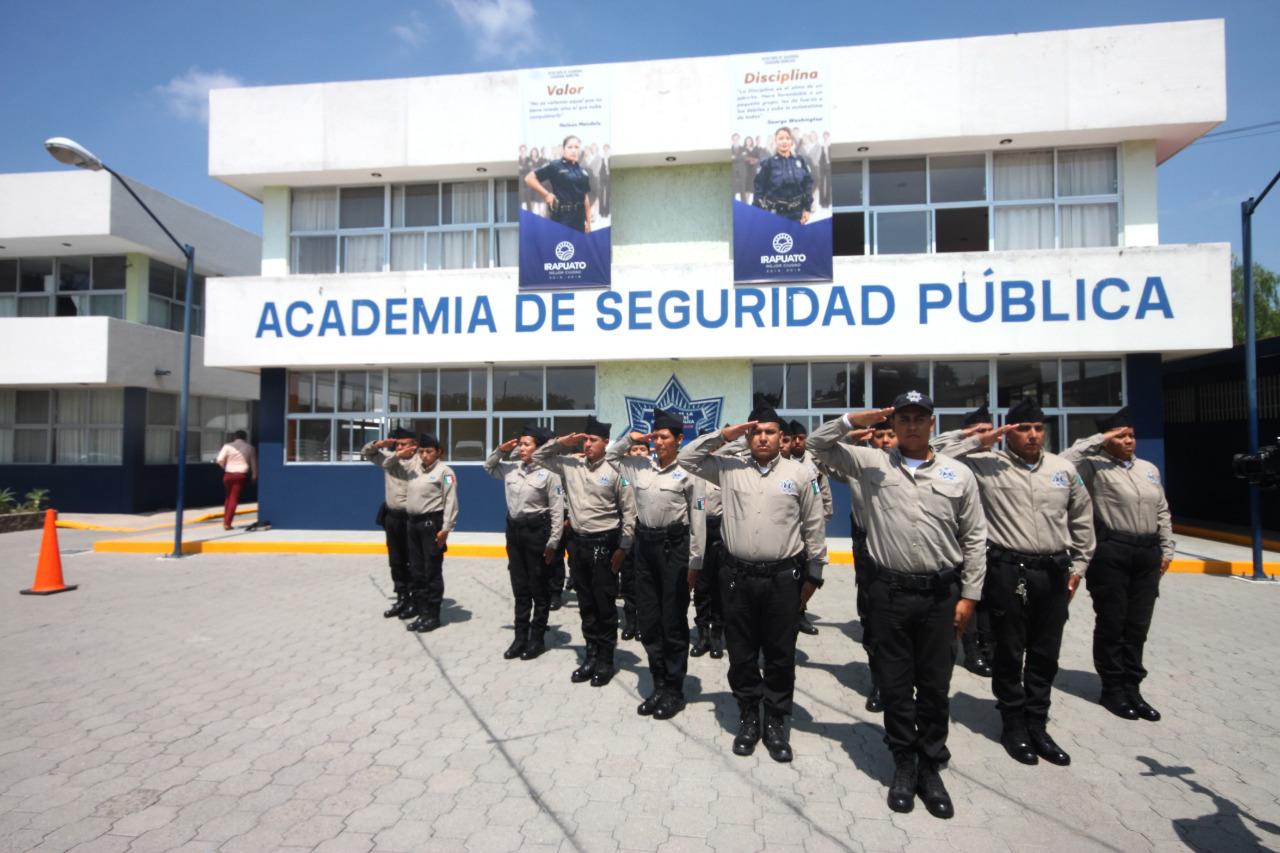 Se graduarán 54 cadetes de la academia de Policía en Irapuato