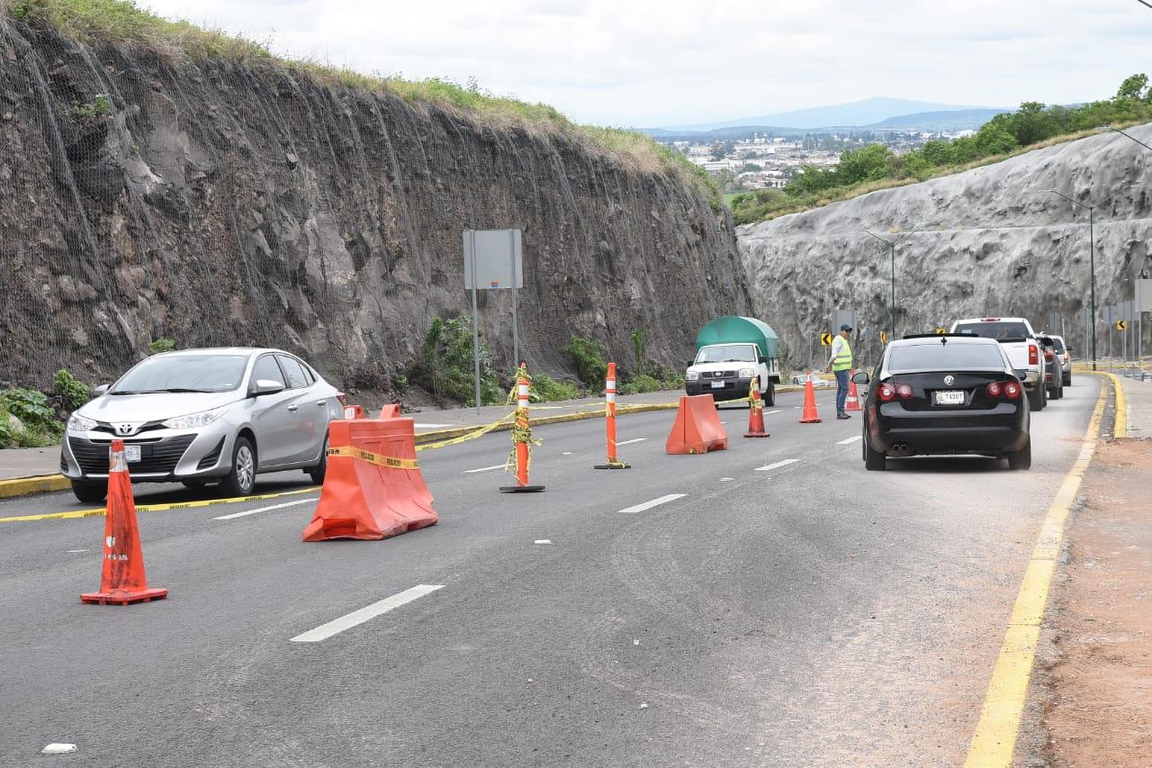 Cuarto Cinturón Vial abre en doble circulación; se pide precaución a conductores