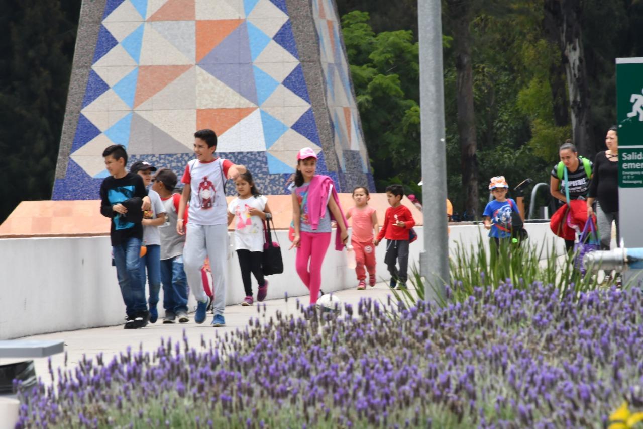 Durante julio, Parque Irekua registró más de 72 mil visitantes