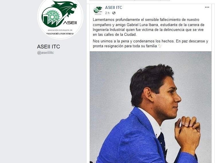 Inseguridad se impone en Guanajuato: asesinan en asalto a estudiante universitario