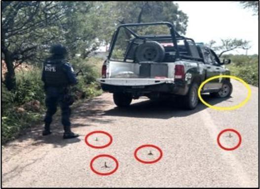 Asciende a 2 criminales muertos saldo de balacera en Villagrán; decomisan armas largas
