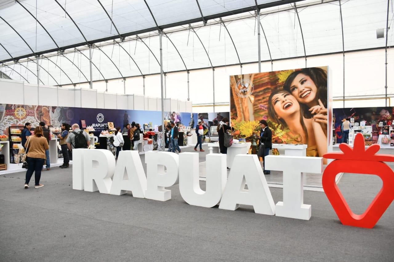 Pabellón de Irapuato en Expoagroalimentaria presenta productos de 28 emprendedores locales