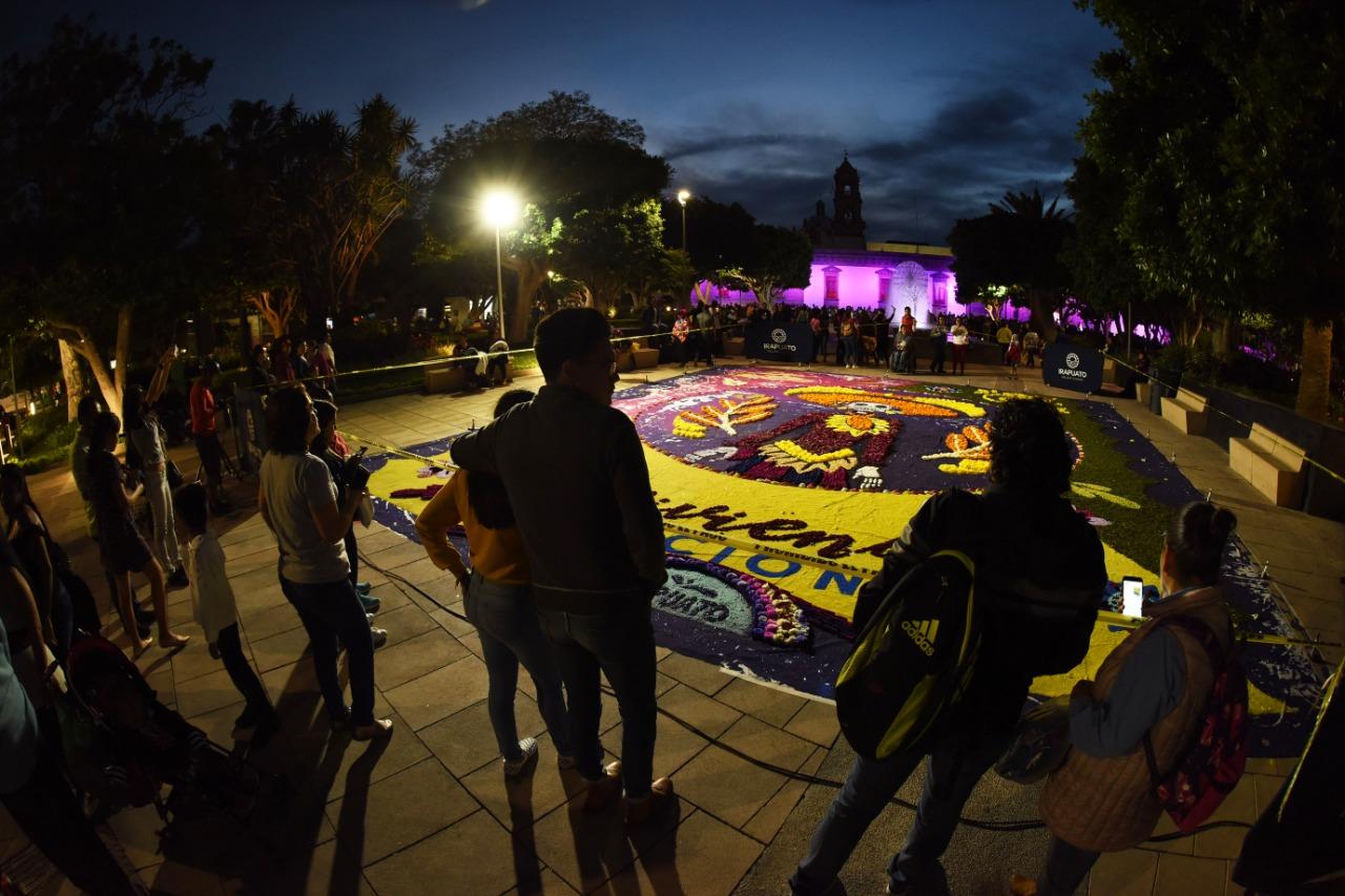 Reviviendo tradiciones estará hasta el 3 de noviembre en Irapuato