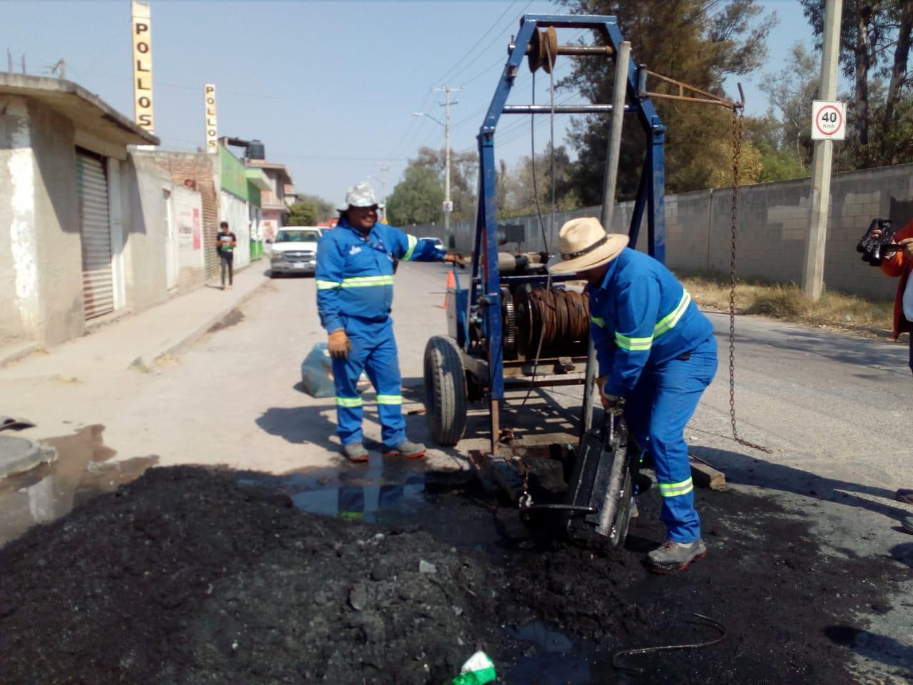 Inicia JAPAMI limpieza de drenajes en prevención a temporada de lluvias
