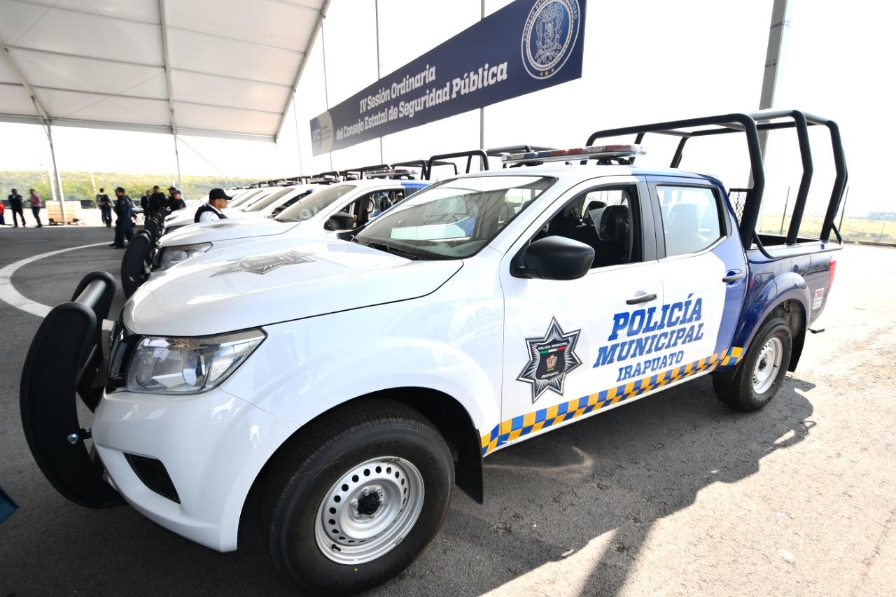 Firmará Irapuato Convenio para obtener recursos estatales para seguridad