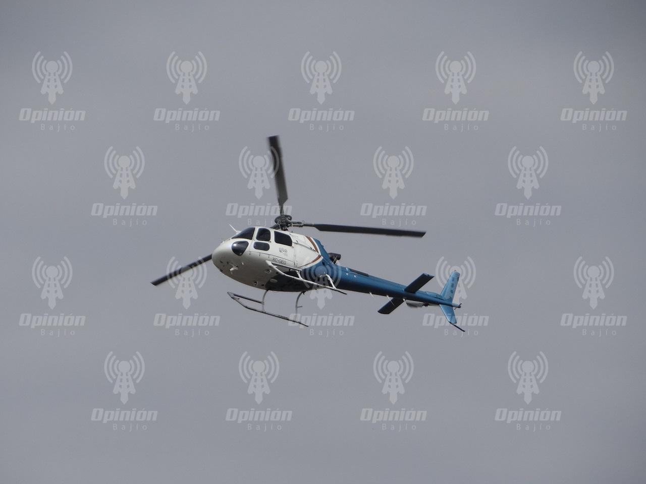Hasta 4 mdp anuales ahorrará Irapuato, al manejar Gobierno estatal helicópteros de seguridad