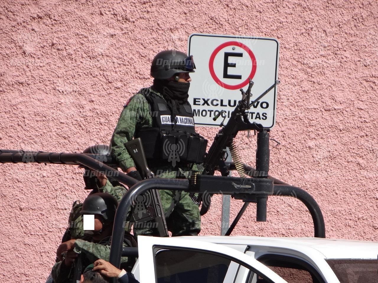 47 miembros del crimen organizado han sido detenidos en las últimas semanas en Guanajuato: SEDENA