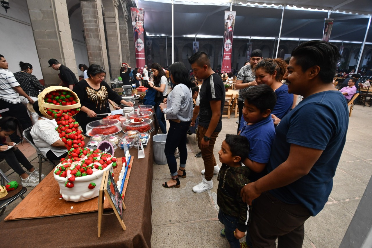 Visitaron 28 mil personas Festival de la Fresa en Irapuato