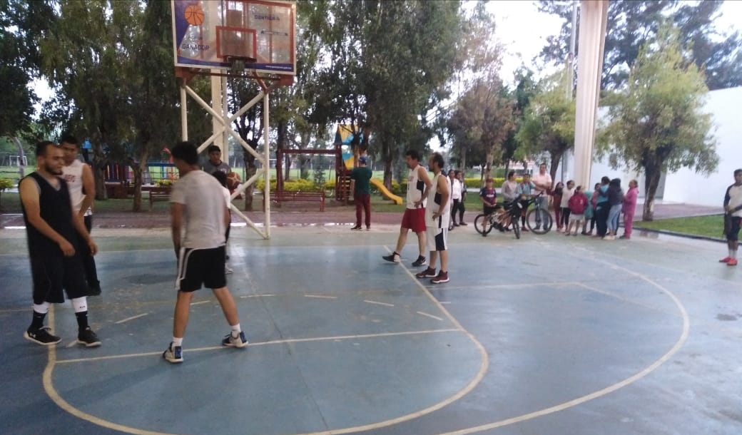 Listas las finales del Torneo de Tercias de Basket Bol en Pueblo Nuevo