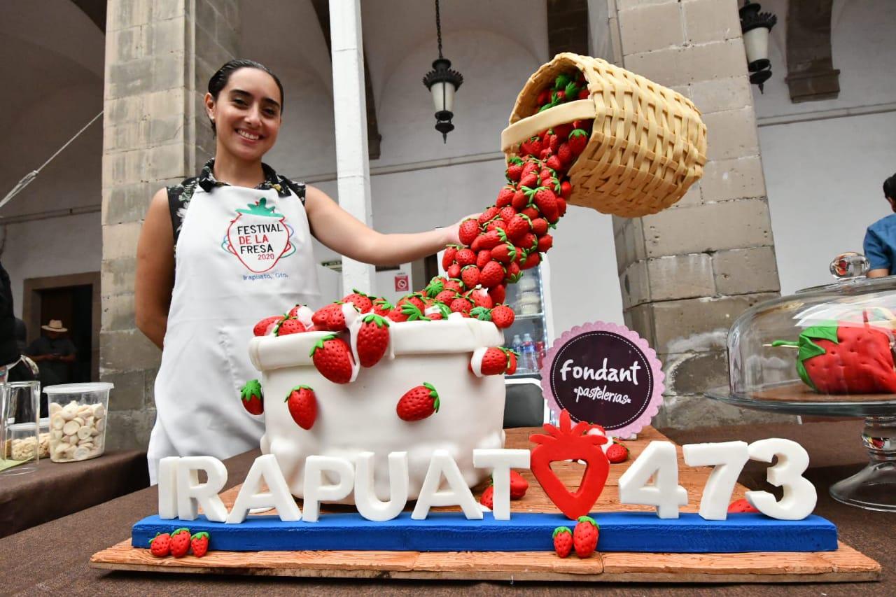 Rebasó expectativas festival de la Fresa 2020 en Irapuato