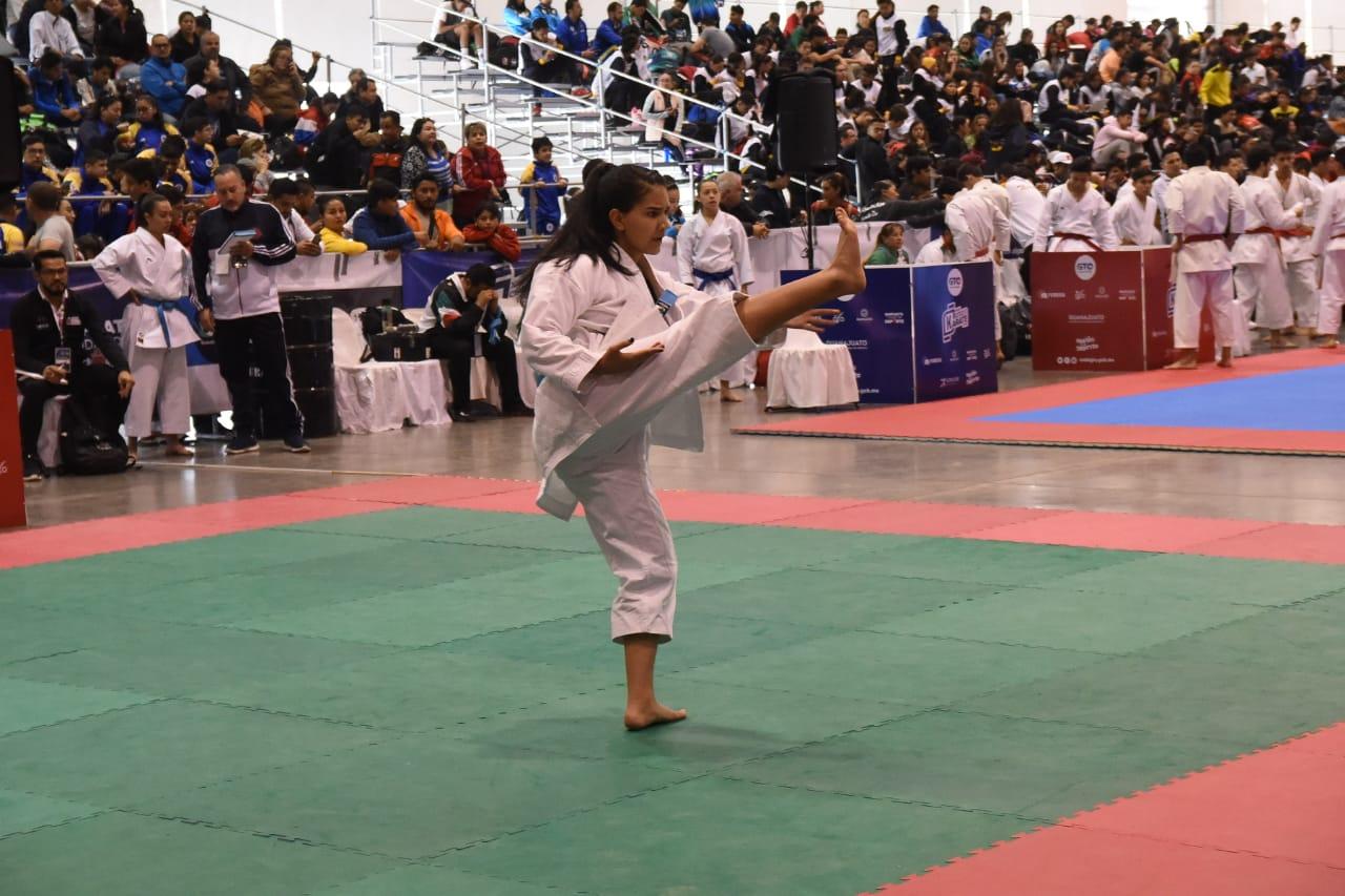 Inició campeonato nacional de Karate en el INFORUM