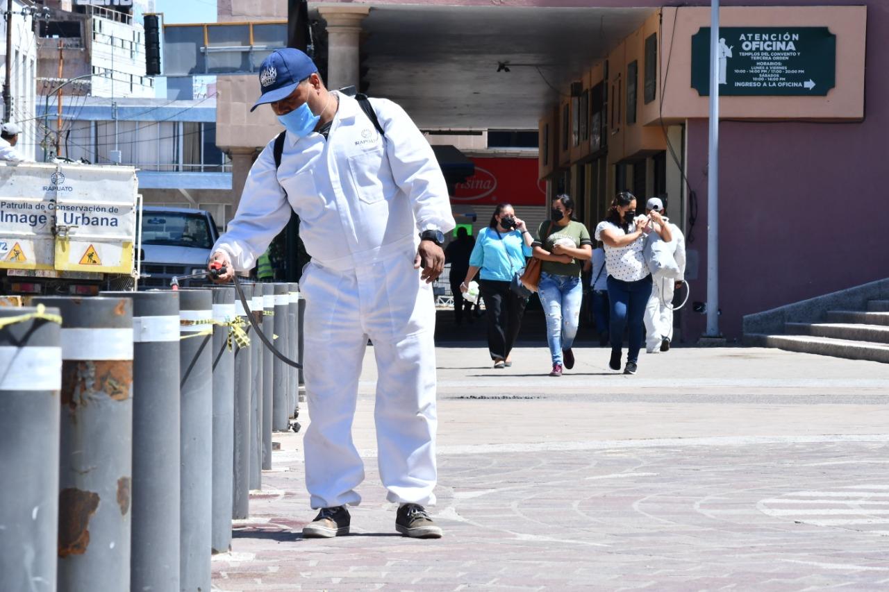 Suma Guanajuato otros 141 contagios y 15 muertes más