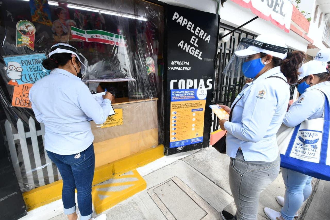 Continúan revisiones de medidas sanitarias en  negocios de Irapuato; van 5 mil visitados