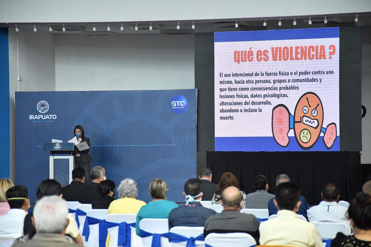 Inicia programa de prevención de violencia familiar y de género