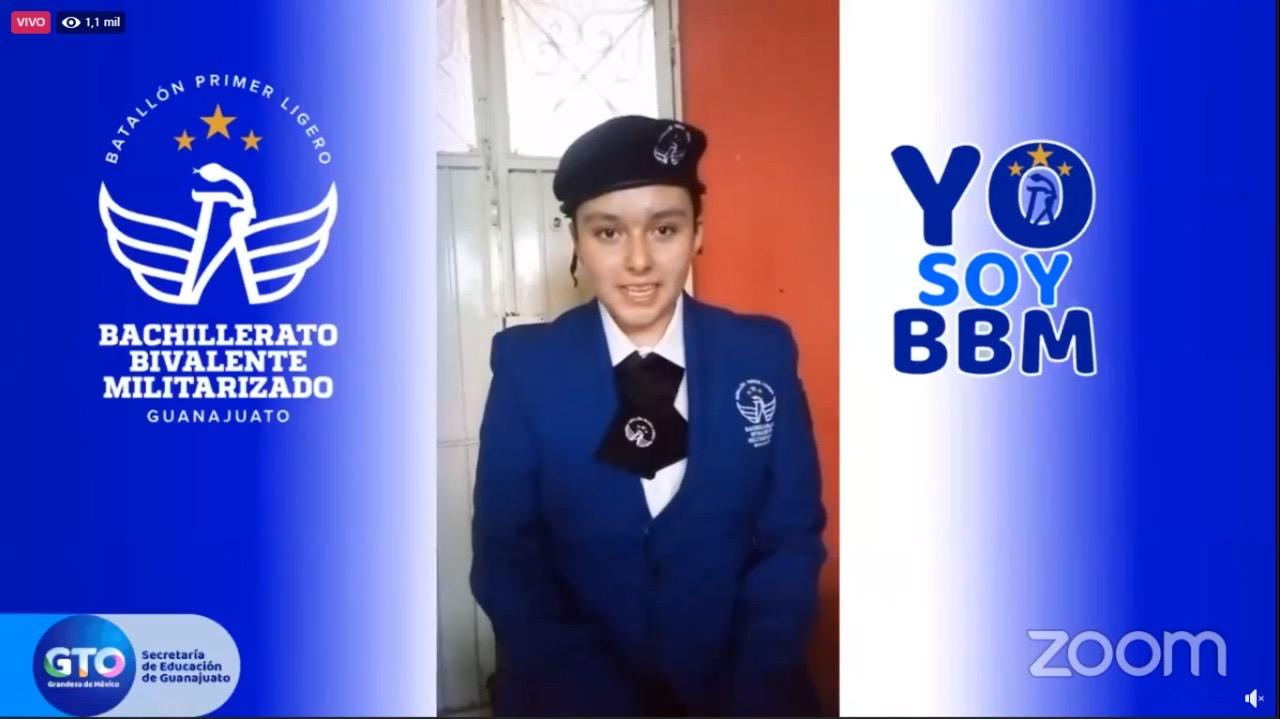 Inicia ciclo escolar 2020-2021 el Bachillerato Militarizado en Guanajuato