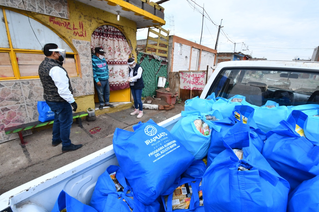 Mantienen apoyos a irapuatenses durante pandemia