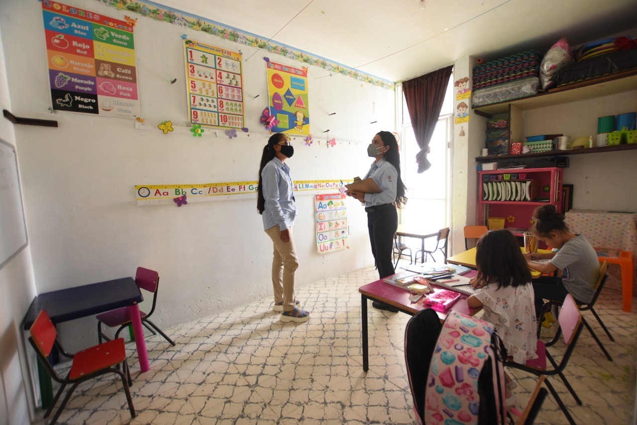 Revisan e inspeccionan Casas de Cuidado de DIF Irapuato