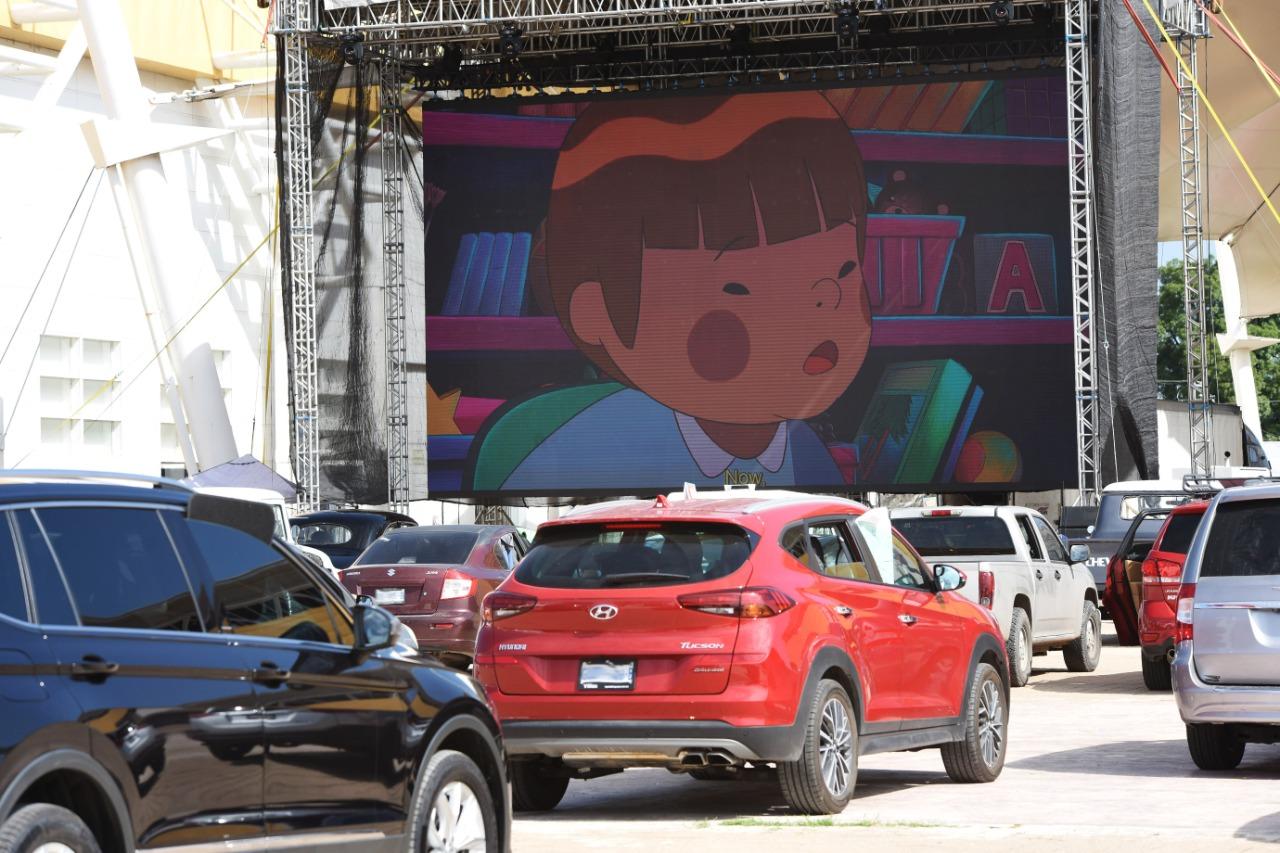 Inició Festival Internacional de Cine en Irapuato, con función de autocinema