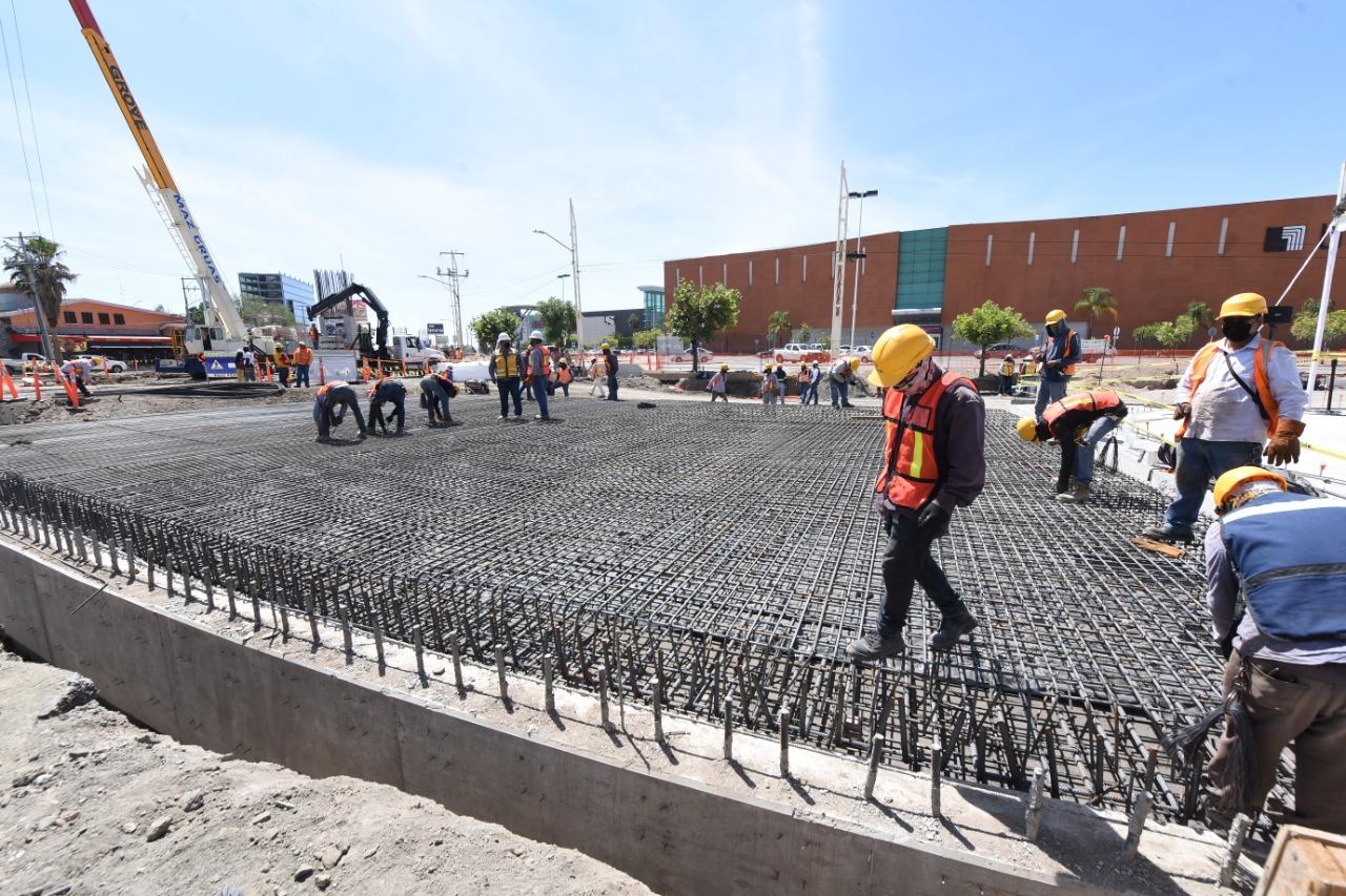 Supervisan avances de obras en Irapuato