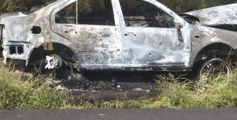 Persiguen a policía, lo matan e incendian vehículo; ya van 74 agentes asesinados en Guanajuato