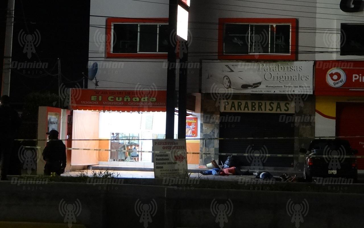 Hermetismo de FGE en masacre cometida en taquería de Irapuato