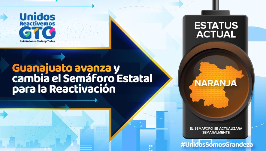 Al cumplirse 6ta. Semana de semáforo naranja, contagios y muertes por COVID-19 no disminuyen en Guanajuato