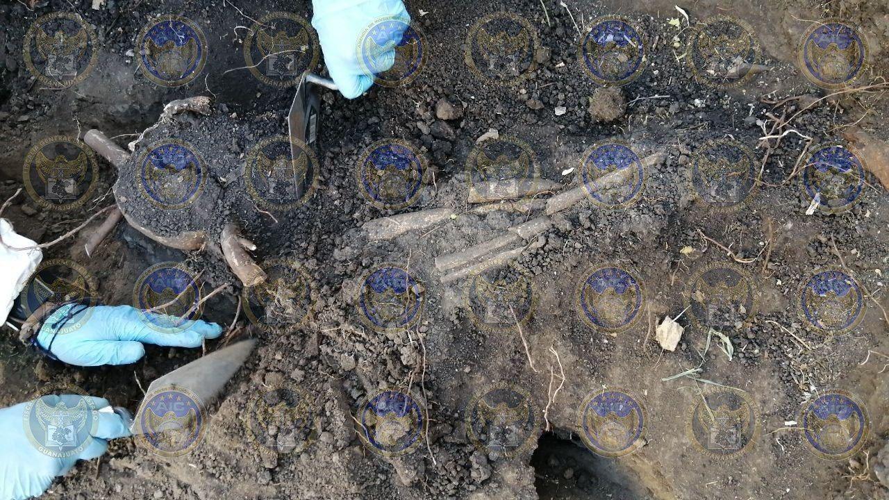 Fosa en Valle de Santiago es de origen prehispánico, no clandestina, afirma FGE