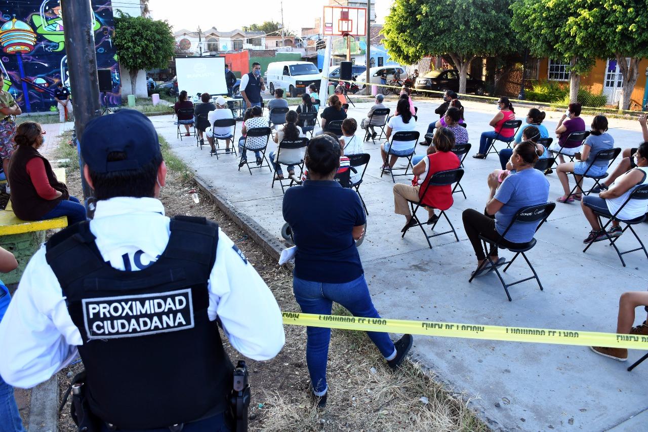 Busca Proximidad Ciudadana concientizar sobre violencia familiar y de género