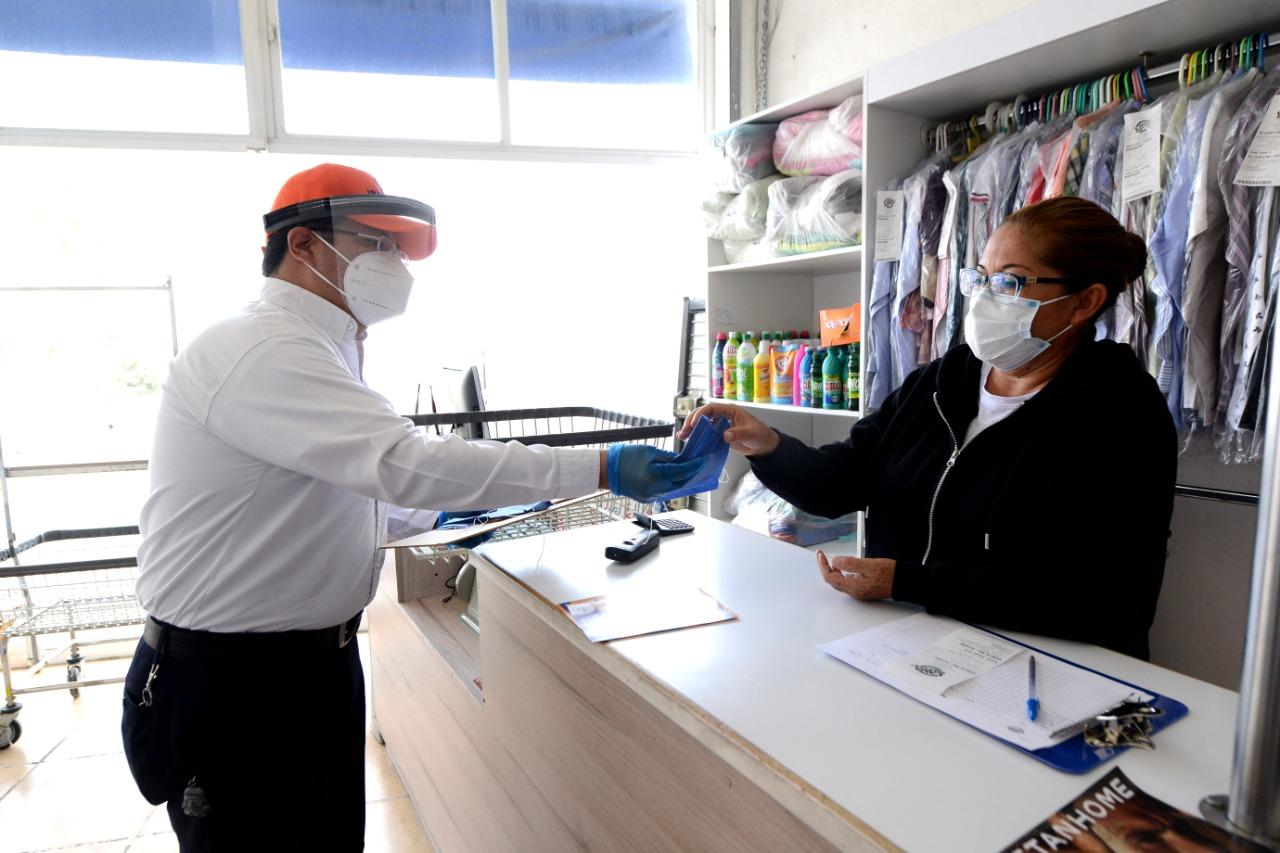 Brigadas Sanitarias han visitado ya más de 7 mil negocios en Irapuato; continúa reparto de cubrebocas