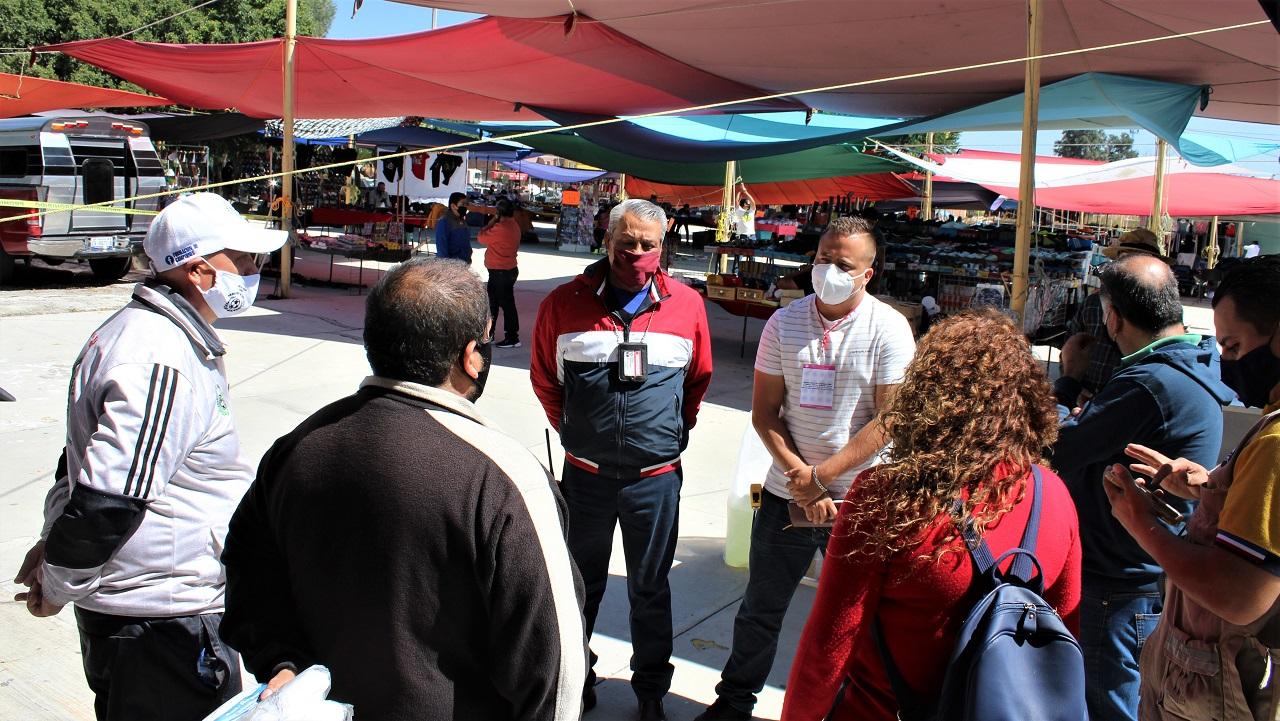 Inicia reactivación paulatina de tianguis en Pueblo Nuevo