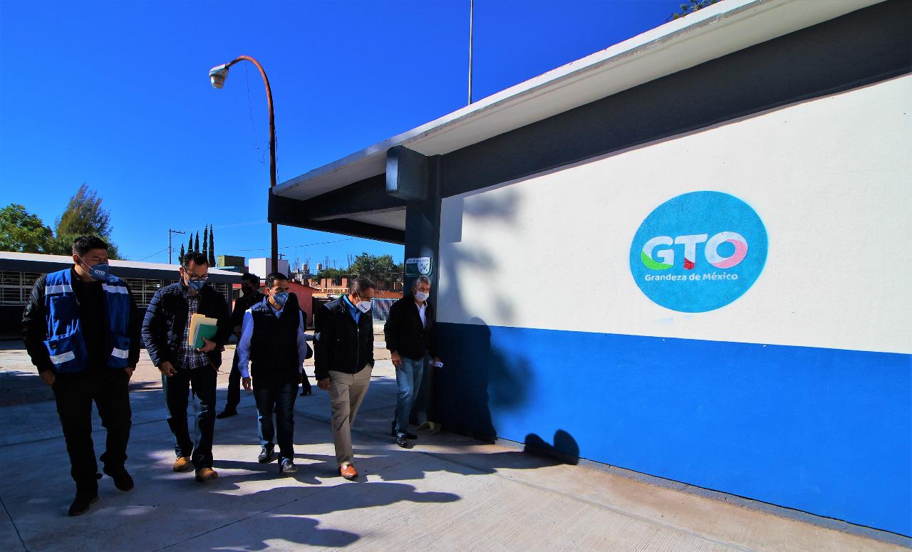 Avanza construcción de 3 escuelas en Pénjamo: SEG Suroeste
