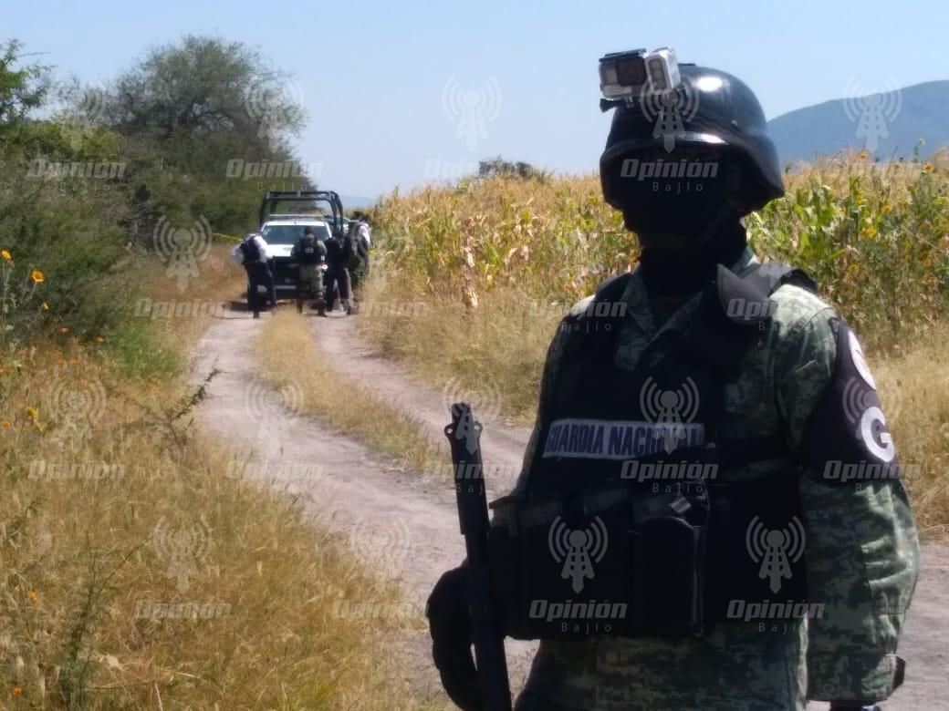 Encuentran 4 ejecutados a balazos en camino aledaño a autopista Salamanca-León