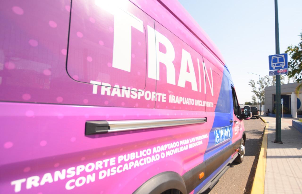 Recuerda que el transporte TRAIN para discapacitados tiene 2 rutas