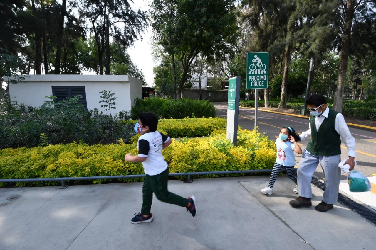 Niños ya pueden ingresar al Parque Irekua; también abrirá los domingos