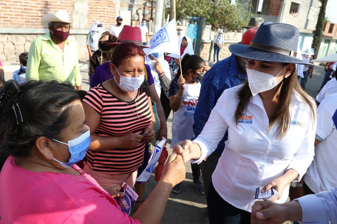 Atención cercana a comunidades: Lorena Alfaro
