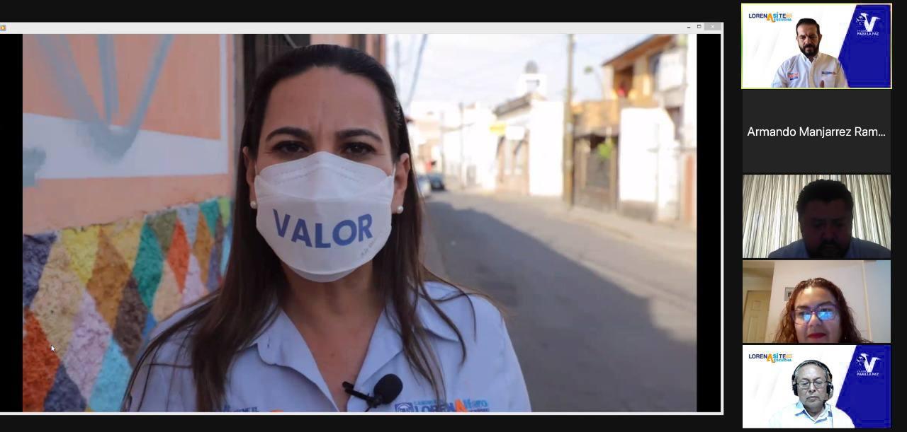 Inician Foros Ciudadanos organizados por Lorena Alfaro; seguridad, primer tema