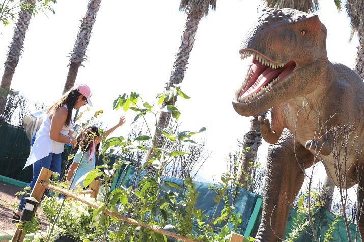 Extienden exposición Jurásica en Parque Bicentenario hasta finales de mayo