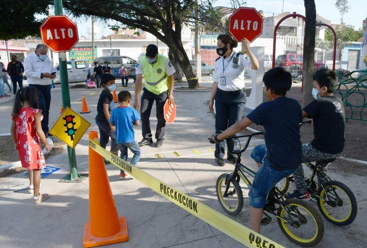 Para evitar accidentes, promueven cultura vial en los niños