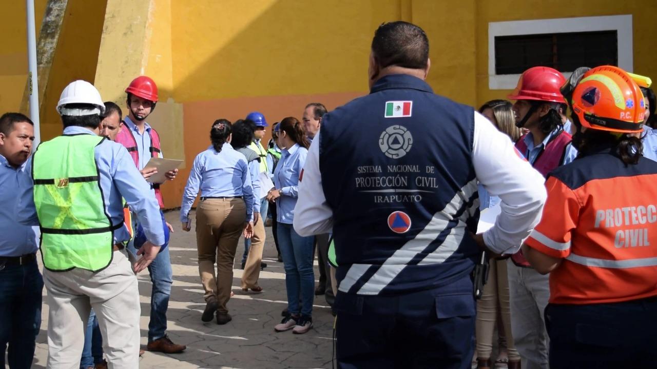 Realizarán mega-simulacro en Irapuato, el 19 de mayo