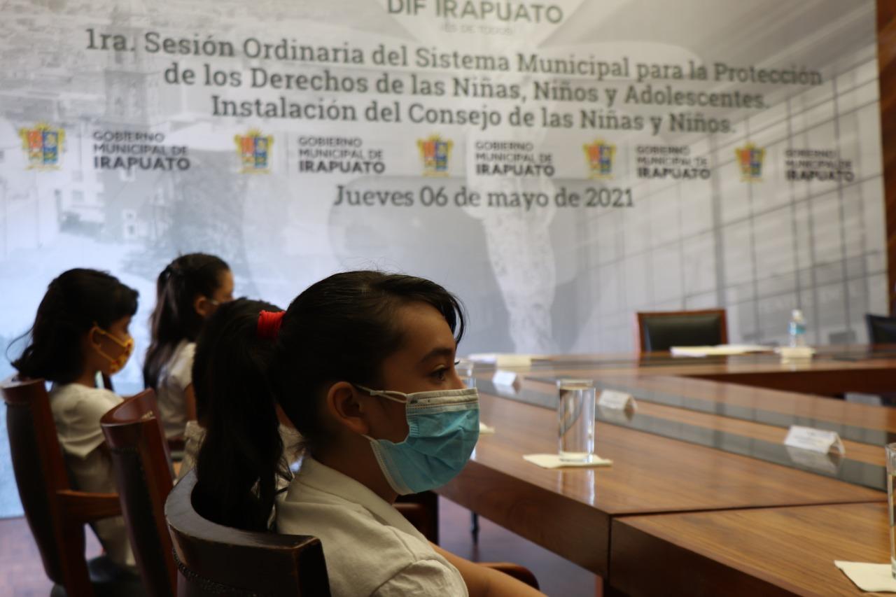 Se conforma el primer Consejo de las Niñas y los Niños en Irapuato