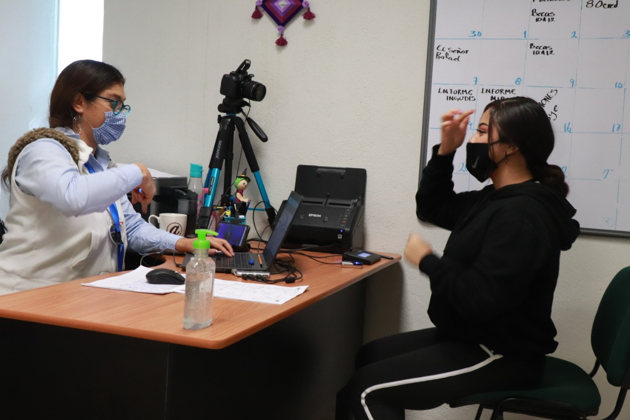 Capacitan a personal del DIF Irapuato en lenguaje de señas mexicanas