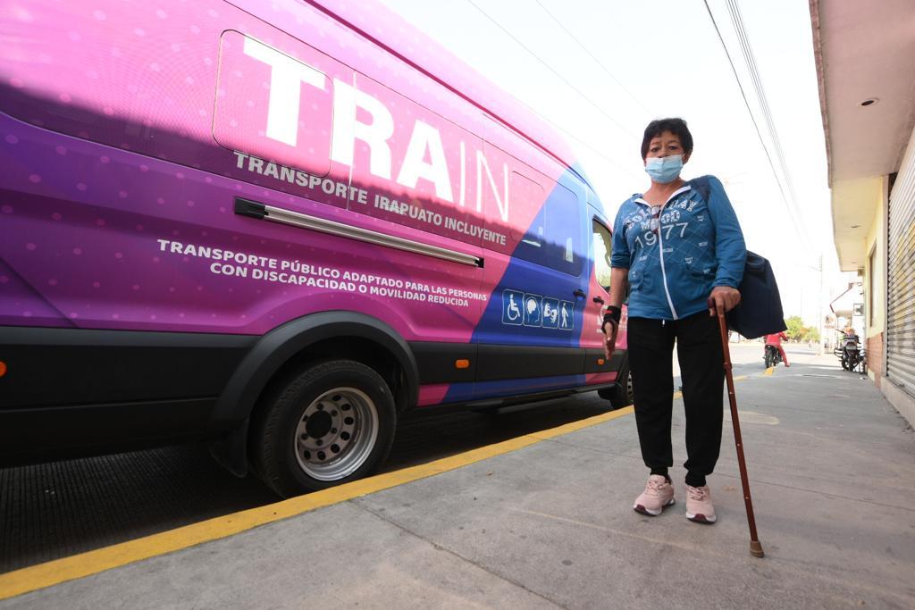 Ya circulan las dos rutas del Transporte para discapacitados TRAIN; pasaje cuesta 5 pesos