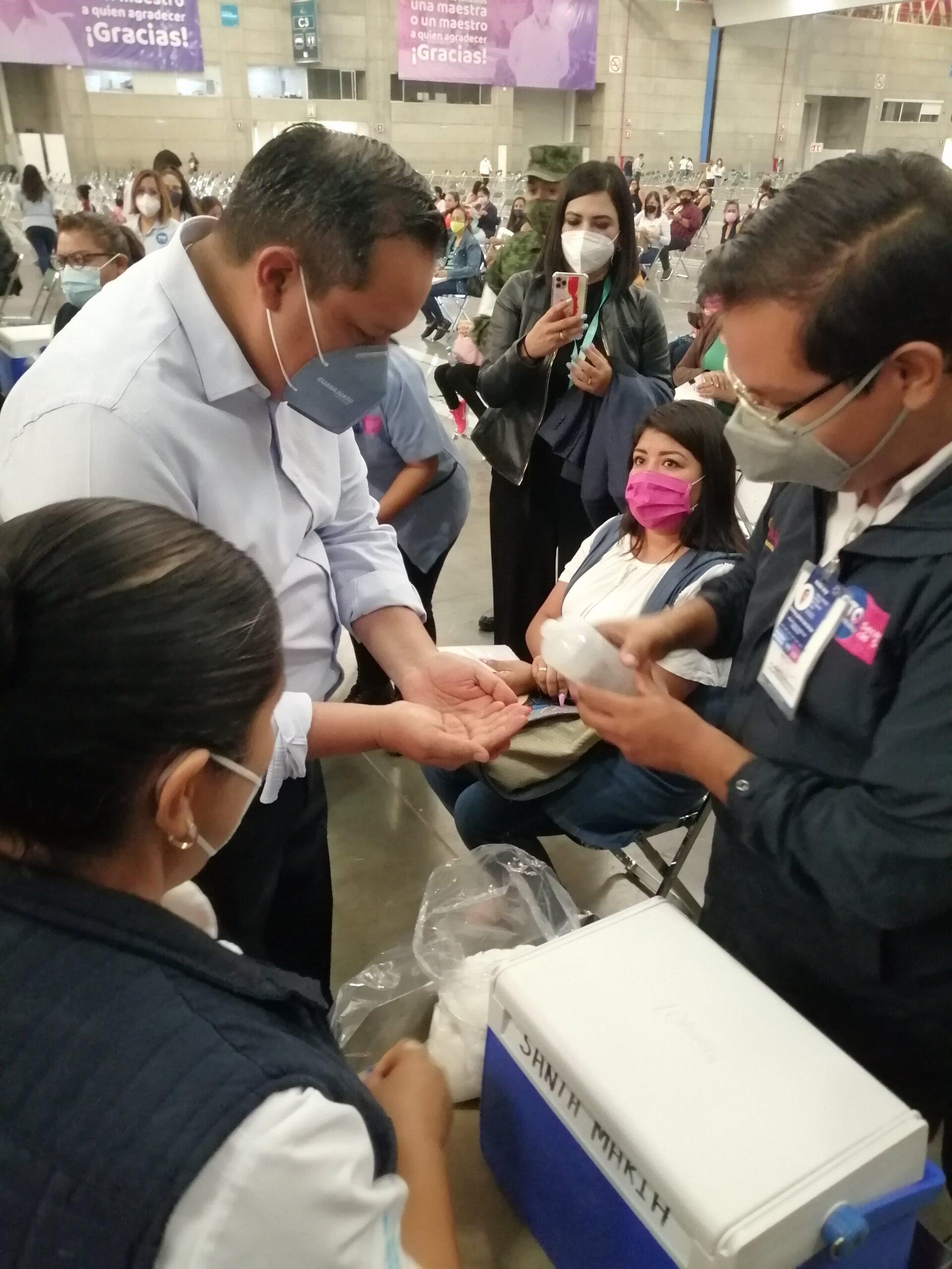 Iniciará en Guanajuato vacunación en adultos de 50 años y más
